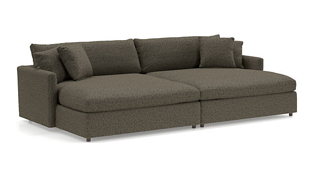 Lounge II 2-Piece Double Chaise Sectional Sofa