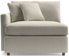 Lounge II Left Arm Chair shown in Taft, Cement