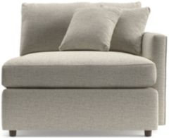 Lounge II Right Arm Chair shown in Taft, Cement