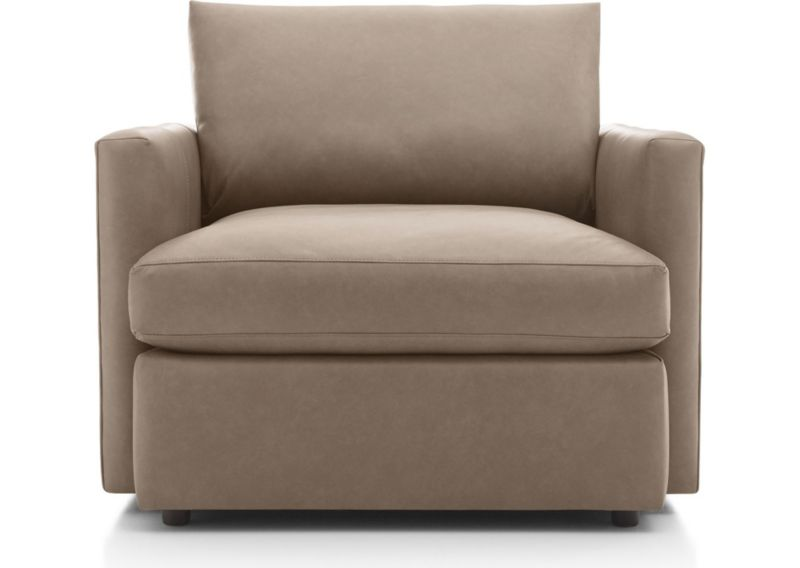 Lounge Ii Leather Chair by Crate&Barrel