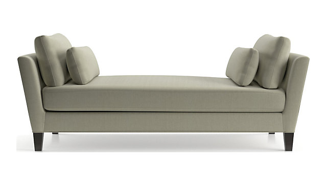 Marlowe Daybed shown in Diva, Platinum