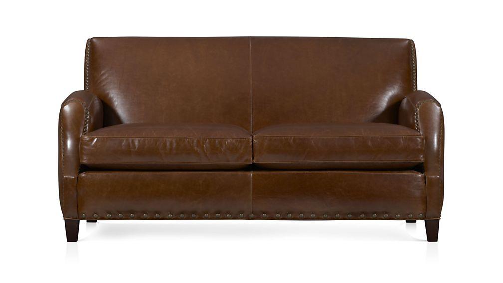 Metropole Leather Loveseat - Image 2 of 5