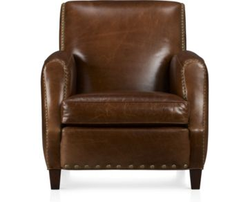 Metropole Leather Chair shown in Brompton, Vintage