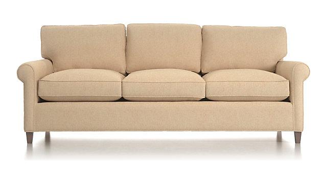Montclair 3 Seat Queen Roll Arm Sleeper Sofa With Air