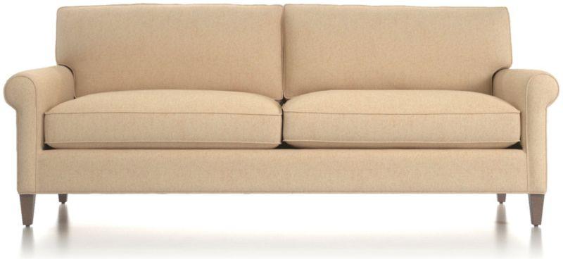 Montclair 2 Seat Sofa Cream Rolled Arm Sofa Reviews