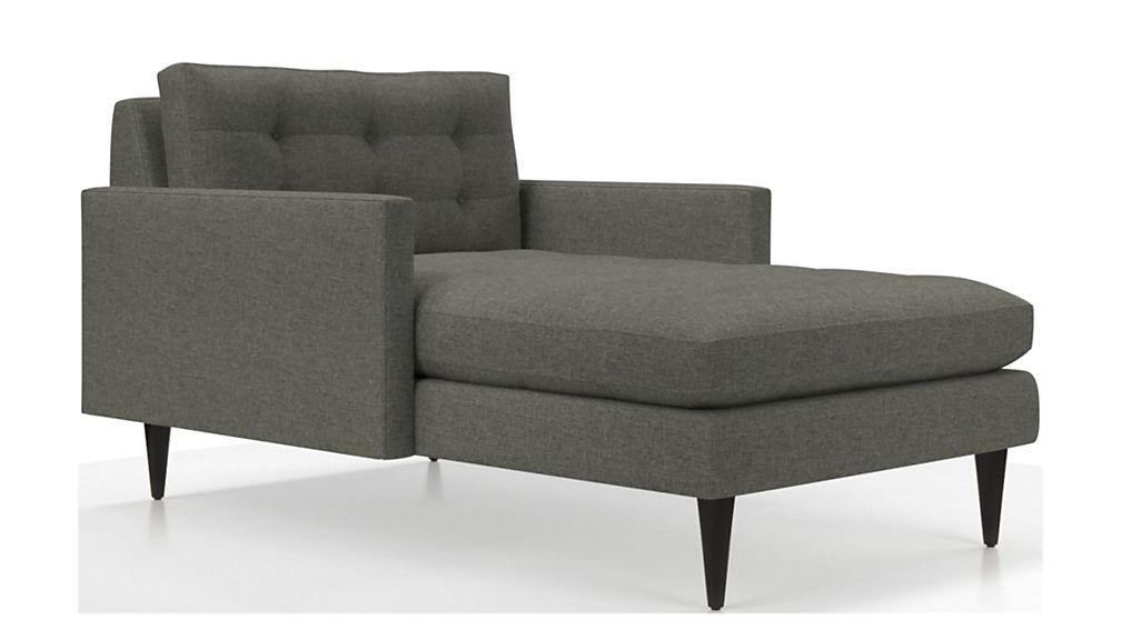 Petrie Midcentury Chaise Lounge - Image 2 of 4