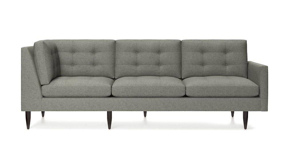 Petrie Midcentury Right Arm Corner Sofa - Image 2 of 4
