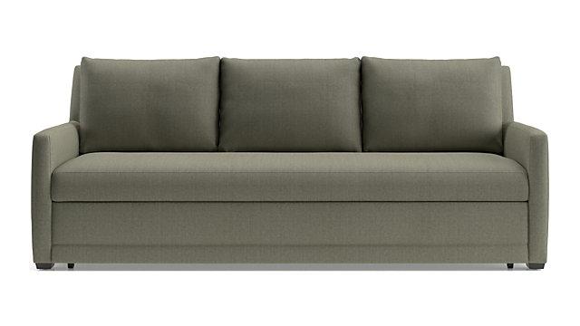 Reston Queen Trundle Sleeper Sofa shown in Omega, Dusk