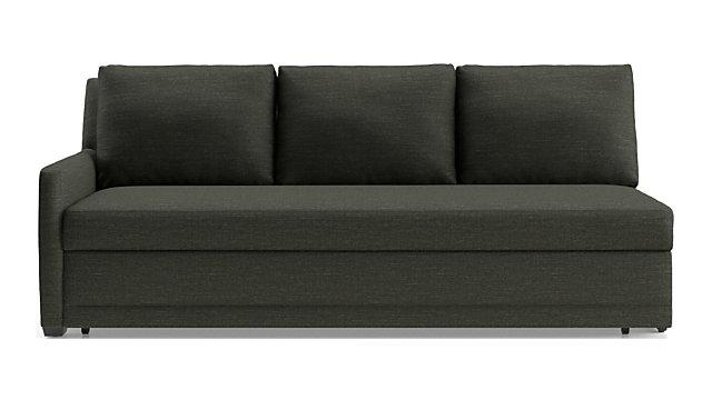 Left Arm Queen Trundle Sleeper Sofa