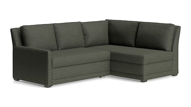 Reston Sectional Sofa Bed Reviews Crate And Barrel