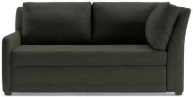 Reston Left Arm Corner Sofa shown in Curious, Charcoal