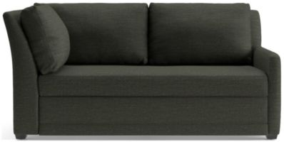 Reston Right Arm Corner Sofa shown in Curious, Charcoal
