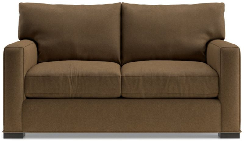 TAP TO ZOOM Axis II Loveseat Shown In Douglas, Coffee