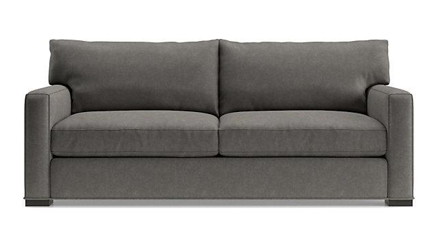 Axis II 2-Seat Queen Sleeper Sofa shown in Douglas, Charcoal