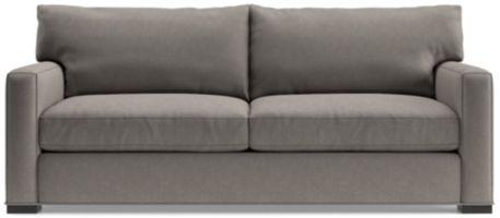 Axis II 2-Seat Queen Sleeper Sofa shown in Douglas, Nickel