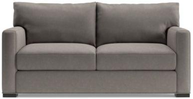 Axis II Ultra Queen Memory Foam Sleeper Sofa shown in Douglas, Nickel