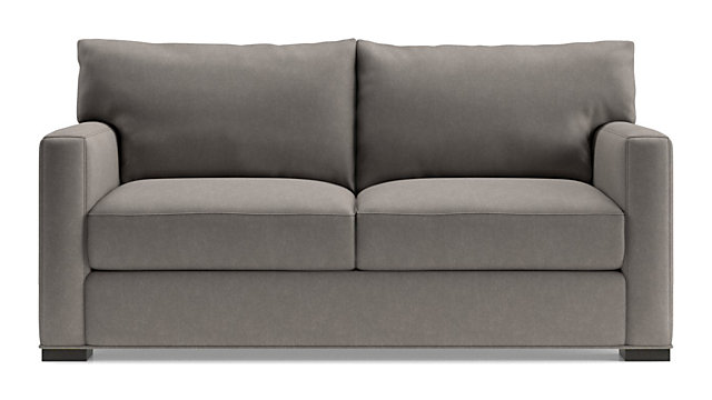 Axis II Ultra Queen Memory Foam Sleeper Sofa shown in Douglas, Nickel