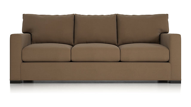 Tap To Zoom Axis Ii 3 Seat Queen Sleeper Sofa Shown In Douglas Coffee