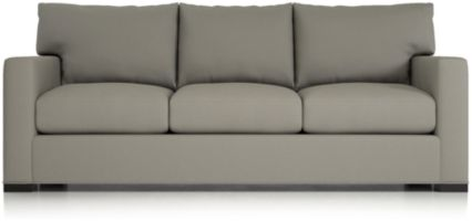 Axis II 3-Seat Queen Sleeper Sofa shown in Douglas, Nickel
