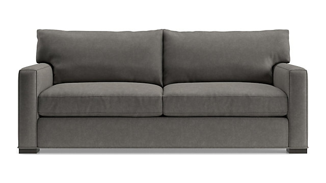Axis II 2-Seat Sofa shown in Douglas, Charcoal
