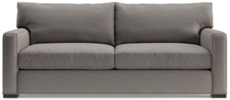 Axis II 2-Seat Sofa shown in Douglas, Nickel