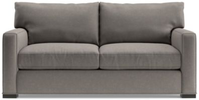 Axis II Apartment Sofa shown in Douglas, Nickel