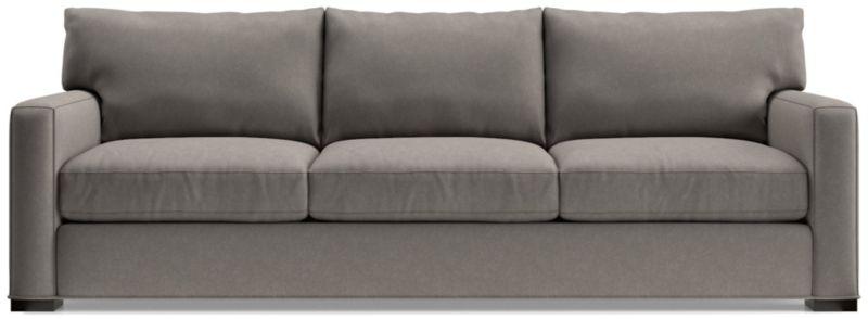 Axis Ii Grande Large Brown Sofa Reviews Crate And Barrel