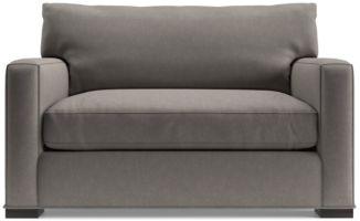 Axis II Twin Sleeper Sofa shown in Douglas, Nickel
