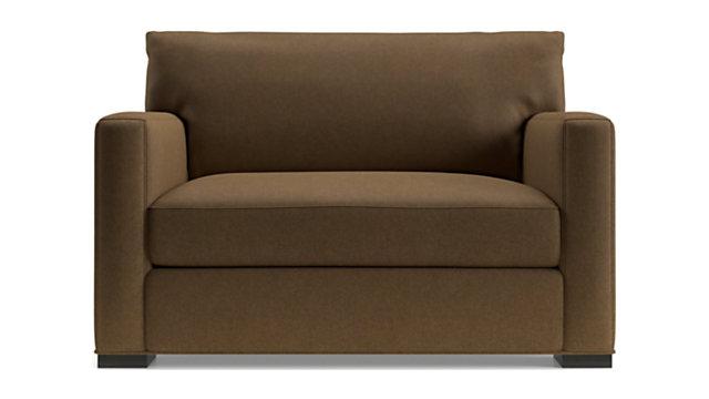 Axis II Twin Ultra Memory Foam Sleeper Sofa shown in Douglas, Coffee