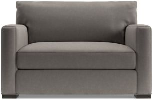 Axis II Twin Ultra Memory Foam Sleeper Sofa shown in Douglas, Nickel
