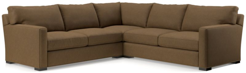 Brilliant Axis Sectional Sofa Axis Ii Brown 2 Piece Sectional Reviews Beatyapartments Chair Design Images Beatyapartmentscom