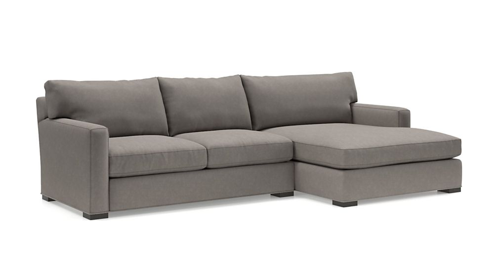 Axis II 2-Piece Right Arm Double Chaise Sectional Sofa - Image 2 of 3