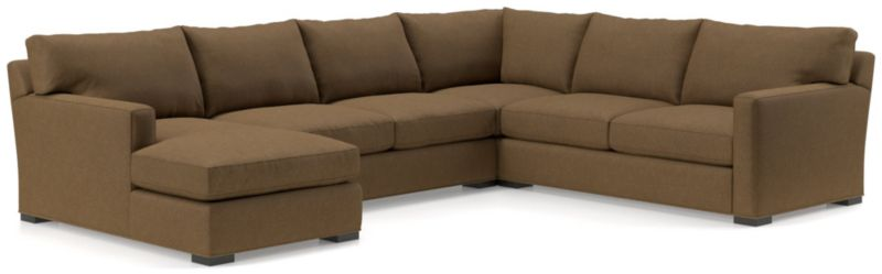 Axis Ii 4 Piece Sectional Sofa by Crate&Barrel