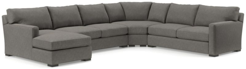 Axis Ii Left Arm Sectional Sofa Reviews Crate And Barrel