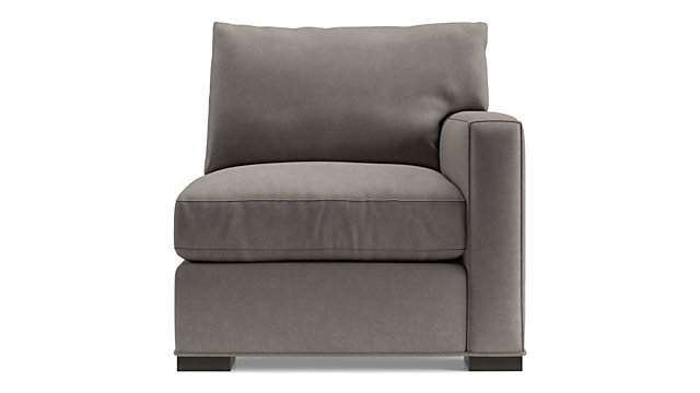Axis II Right Arm Chair shown in Douglas, Nickel