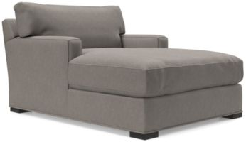 Axis II Chaise Lounge shown in Douglas, Nickel