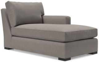 Axis II Right Arm Chaise Lounge shown in Douglas, Nickel