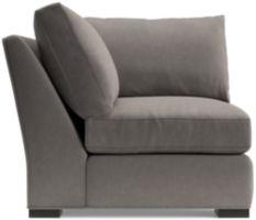 Axis II Corner Chair shown in Douglas, Nickel
