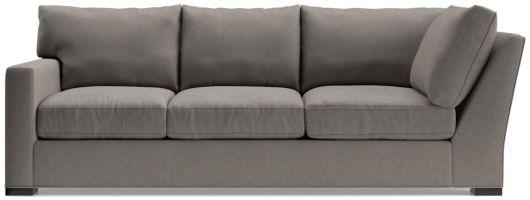 Axis II Left Arm Corner Sofa shown in Douglas, Nickel