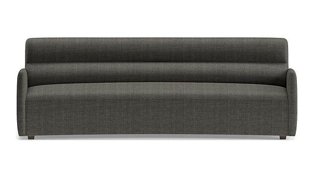 Sydney Curved Sofa shown in Mystic, Stout