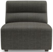 Sydney Armless Chair shown in Mystic, Stout
