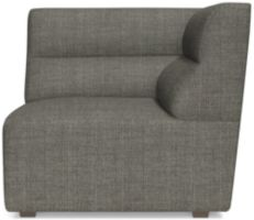 Sydney Corner Chair shown in Mystic, Stout
