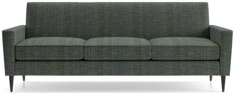 Torino 3-Seat Sofa shown in Groove, Lagoon