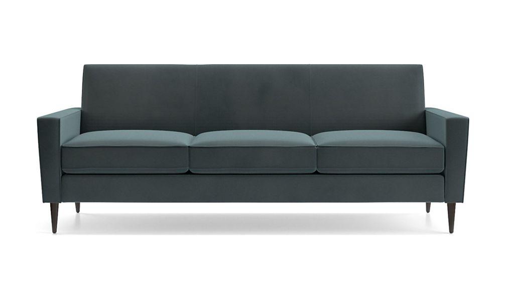 Torino Velvet 3-Seat Sofa - Image 2 of 5