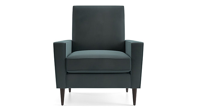 Torino Velvet Recliner shown in Flanders, Teal