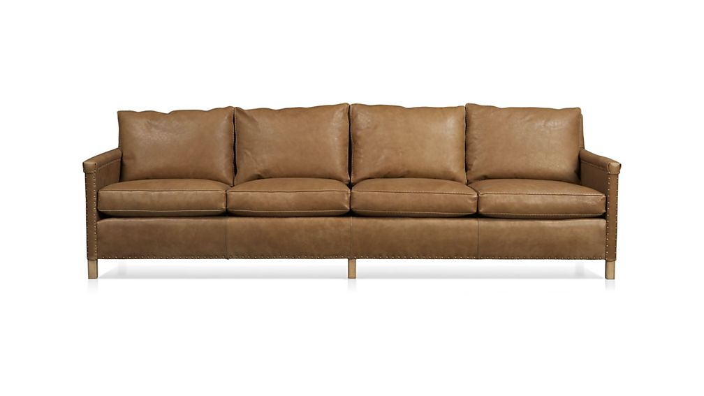Sofa Trevor Leather 4 Seat 106 Grande