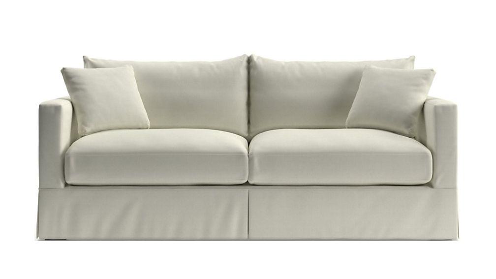 Willow White Queen Sleeper Sofa With Air Mattress
