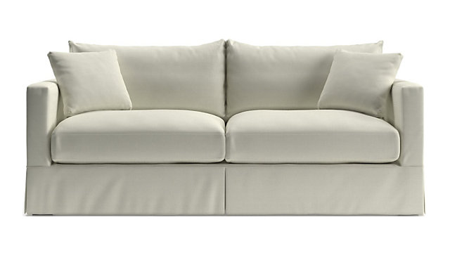 Willow Modern Slipcovered Sofa