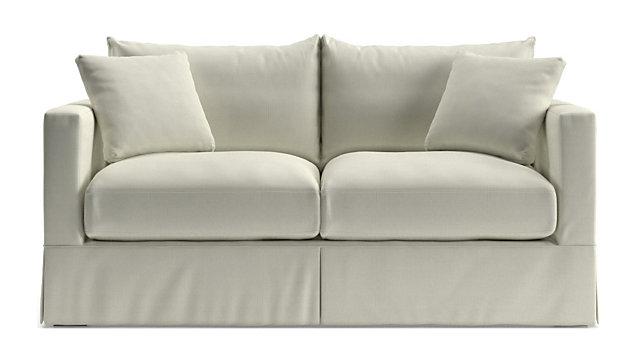 Willow Modern Slipcovered Full Sleeper Sofa