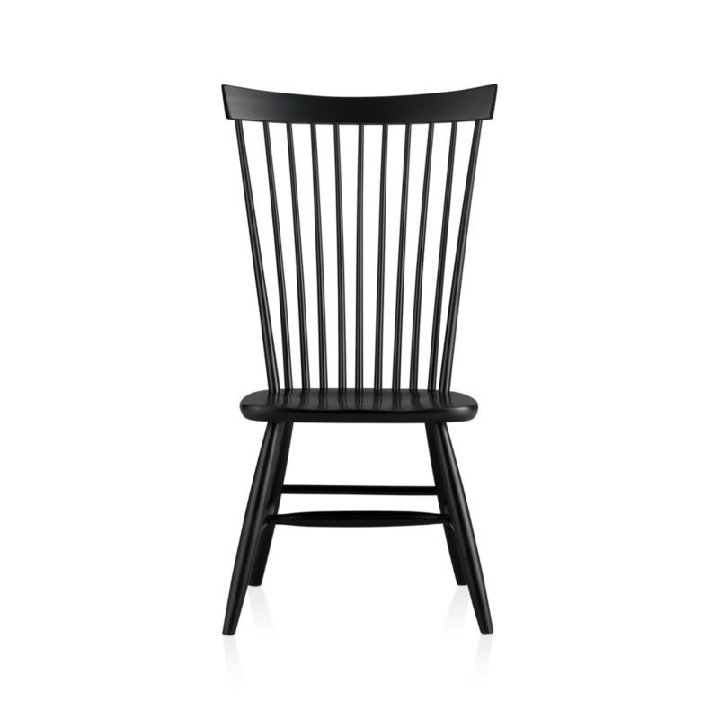 Marlow II Black Maple Dining Chair + Reviews